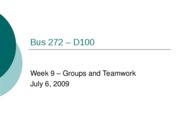 Bus 272 - Week 9 Slides