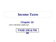16 Ch0. 16 - Income Taxes