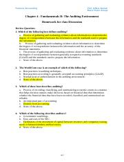 Chapter 4 - Homework 90% hecho