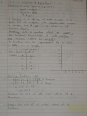 Functions & Equations Notes