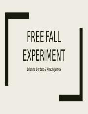 Free Fall Experiment PowerPoint.pptx