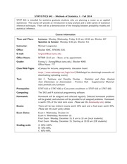 SyllabusSTAT641_F2014