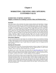 Marketing Principles Solution Manual Chapter 1