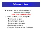 Lecture 5 - NAtural Product Extraction