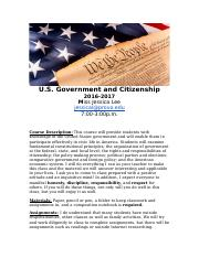 Government and Citizenship Disclosure Doc