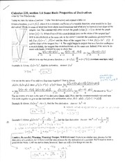 MATH220 Section 1.6-2.3