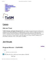 Monster Solutions Program Director - (TaSM-083)