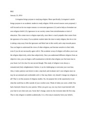 Reading Response 2-Livingston's article