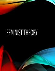Feminist Theory.pptx