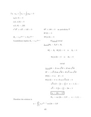Differential Equations Lecture Work Solutions 65
