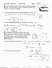 Exam 2 Review Solution Spring 2010