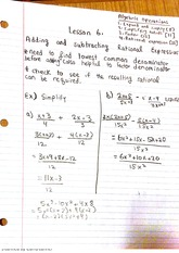 Adding and subtracting rational exponents