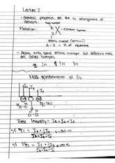 CHEM 122 Fall 2014 Mass Spectrometer Lecture Notes