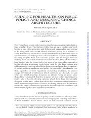 WEEK 2 - Reading 2 - Nudging for Health.pdf