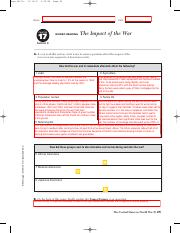 Worksheet 17 4 Pdf Aran 0517ir 2 49 Pm Page 25 Name Date Chapter 17 Guided Reading The Impact Of The War Section 4 A As You Read This Section Write Course Hero