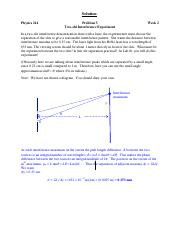 2-3 Interference_Expt Solution