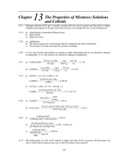 Homework K Solutions on Principles of Chemistry