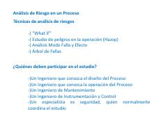 02 - Analisis de Riesgo (What If)