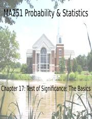 Chapter 17 - Test of Significance - The Basics.pptx