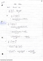 Deviations of Trig Functions Lecture Notes 7