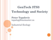 Lecture - Industrial Ecology