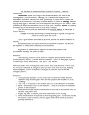 lab 1 mealworm behavior worksheet 1 Answer questions 1 – 3 on the mealworm behavior lab worksheet (the document you downloaded in step 2) follow the instructions to complete the lab select at least.