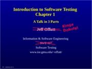testing-Introduction - Offutt