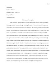 sonnys blues literary analysis essay