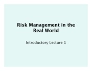 risk in the real world1.pptx