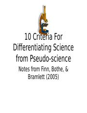 6_Ten criteria for detecting pseudoscience