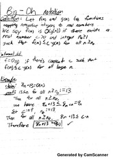 Data Structures and Algorithms - Proofs Notes