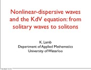 Nonlinear_and_dispersive_waves_Prof_Lamb