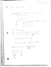 Math Algebra 2 Notes  6