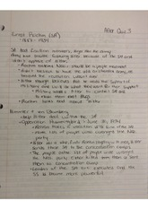 The Beginnings of World War II Class Notes