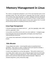 Memory Managment Linux.docx
