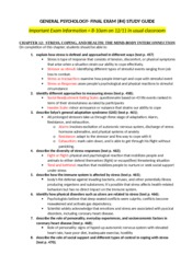 PSYC110-Final Study Guide