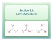 Chapter 8.6 Lewis Structures