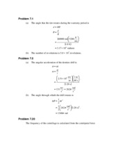 PHY 138 - Chapter 7 Solutions