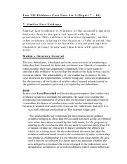 Law 332 Evidence Case Note Set 3.docx