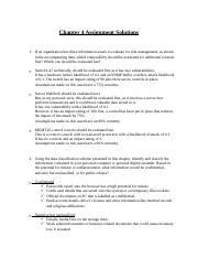 Chapter 4 Assignment Solutions.docx