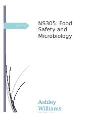 AWilliams NS305 Food Safety and Microbiology unit 7 project.docx