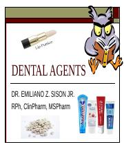 DENTAL AGENTS.ppt