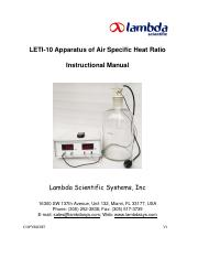 LETI-10 Specific Ratios of Air Apparatus_ Manual(1).pdf