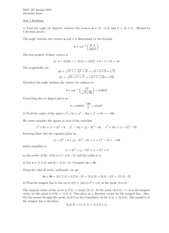 MAT 267- Exam 1 Practice Questions with answers