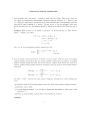 Midterm Solutions 2008