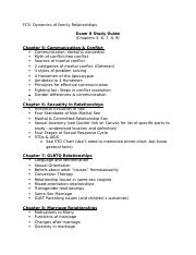 FCS Exam II Study Guide Online_2.docx