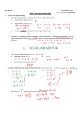 Exam 2 Review Answers