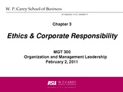 Week 03 CH 03 Ethics and Corporate Responsibility