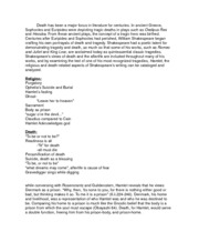 term paper outline death of stars