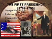 12WASHINGTON PRESIDENCY